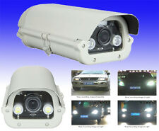 LPR CCTV License Plate Recognition Professional Camera 1000 TVL 5-50 Varifocal
