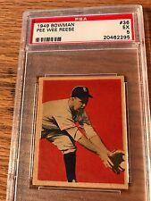 1949 Bowman #36  Pee Wee Reese  Dodgers PSA 5