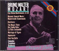 Bruno Walter: Mozart una piccola notte musica k525 le Nozzi di Figaro cosi base CBS CD