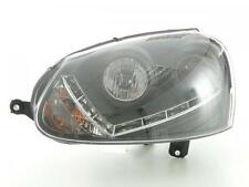 Daylight headlamps with daytime running lights fit for VW Golf 5 Yr. 03-08, blac