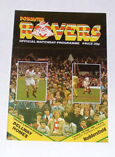 Doncaster Rovers -v- Huddersfield Town 1982-1983