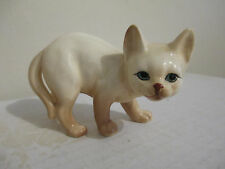 "Danbury Mint Cats of Character 4"" Watching Out Figurine Bone China"