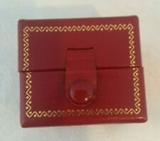 Leatherette Organizer Earring gift box Holder Case Small Jewelry Storage