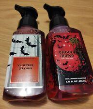 Bath & Body Works Gentle Foaming Hand Soap Set Lot  VAMPIRE BLOOD, Ghoul Friend