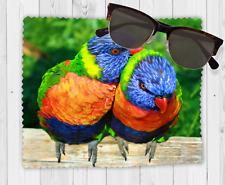 Rainbow Lorikeet Sunglasses Reading Lens Mobile Phone Microfiber Cleaning Cloth