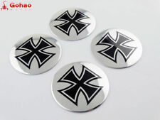 5.5cm Iron Cross Emblem Decals for Motor Sportster Softail Dyna Touring