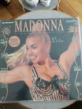 MADONNA blond ambition tour laser disc video Rare Promo madame x