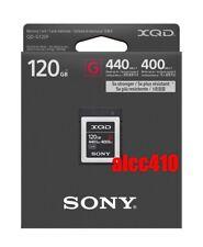 Sony 120GB XQD G-Series Memory Card QD-G120F Read 440MB/s Write 400MB/s 4K AU