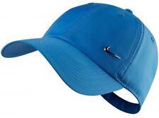Nike Official Pacific Blue Adult Cap Hat Unisex Mens Womens Metal Swoosh