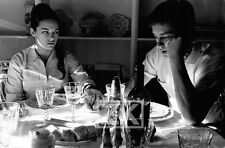 NATHALIE ALAIN DELON USA Vin Bouffe MILLER Photo 1964