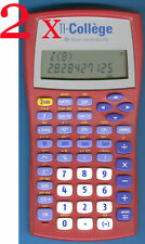 Texas Instruments TI-Collège Calculatrice de l' école fr. x 2 rouge