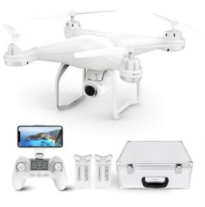 Potensic T25 Drone 1080P HD Camera RC Quadcopter FPV GPS Drones with Carry Case