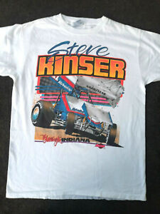SPRINT CAR -  STEVE KINSER -  1993 VINTAGE T-SHIRT - LARGE