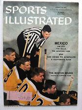 1957 BOSTON BRUINS NHL HOCKEY TEAM 1st Sports Illustrated