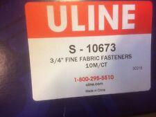 """Uline s-10673 3/4 fine fabric fastener 3/4"""" Fastener (4 Boxes)"""