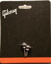Genuine Gibson Aluminum Strap Buttons Set Les Paul SG ES  Authentic Guitar Parts