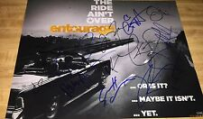 Entourage The Movie Main Cast 14 Total Hand Signed 11x14 Autographed Photo COA