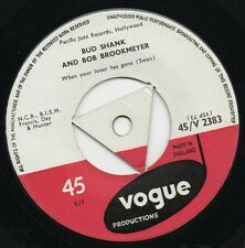 BUD SHANK AND BOB BROOKMEYER when your lover has gone 1956 UK VOGUE TRI-CENTRE
