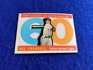 1960 Topps High # 568 Del Crandall A.S. NM