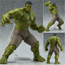 Marvel Avengers Figma Hulk Anime Movable Action Hero Figure Toy Doll Model 17cm