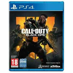 JEU PS4 - CALL OF DUTY, BLACK OPS 4 / PLAYSTATION, VF INTEGRALE, NEUF