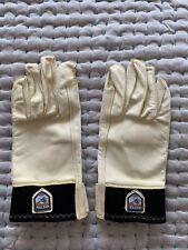 Hestra Vintage Leather Gloves Size 8