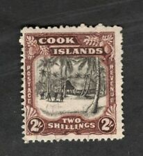1944 Cook Islands  SC #123 KGVI  Used stamp Fine
