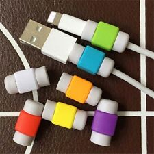 10pcs Protector Saver Cover Lightning USB Charger Cable Cord for Cellphones