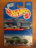 Hot Wheels Terrorific Series At-A-Tude 1/4 Green 1999 #977 Freaks of Horror