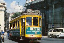 RYD377% PORTUGAL Lisbon tram 729 in 1993 Original 35mm slide