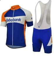 Rabobank Retro Cycling Jersey Bib Short Set