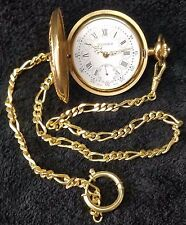 Vintage Bucherer pocket watch with Chain - It's so beautiful and Rare!!!