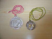 2 Sport Medaillen – Thema Fußball