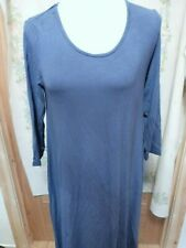 JOIN CLOTHING DIP BACK TUNIC AZURITE BLUE SMALL TAGGED