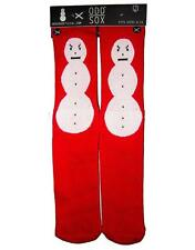 ODD SOX SOCKS COLLECTION SNOWMAN PRINT HIP HOP TRAP  STAND OUT NEW!!