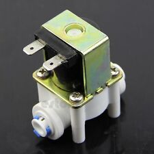 Plastic Electric Solenoid Valve for Water Purifier Ionizer Inlet Flow Switch