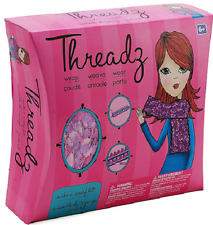 Threadz DIY Project Make A Scarf Kit - Complete  Yarn, Hook, Needle, and Loom