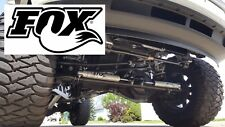 FOX 2.0 Dual Steering Stabilizer Kit for 2013-2020 Dodge Ram 2500 HD/3500 HD