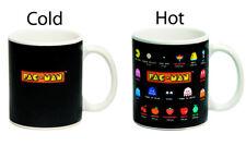 Pac-Man Glossary Heat Change Mug (10 oz. Coffee Beverage Drinking Cup) NEW