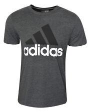 Adidas Shirt -  Dark Grey/Black/White - XLarge size  Badge of Sport Classic