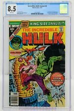 INCREDIBLE HULK ANNUAL # 6 - CGC 8.5 - DOCTOR STRANGE APPEARANCE - MARVEL - 1977