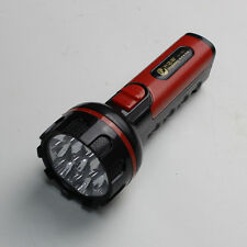 7 LED 800 mAh Durable Plastic Casing Rechargeable Hand Torch Flashlight Hunting