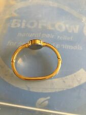 BIOFLOW FINESSE Wrist Bracelet EXCELLENT used Condition. Gold Colour Small