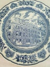 Yale University Wedgwood Connecticut Hall Plate 10-1/2""