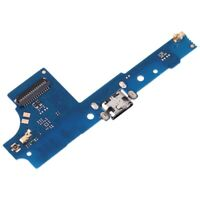 BOARD FLEX CARICA CONNETTORE PORTA MICRO USB RICARICA+MICROFONO per WIKO U PULSE