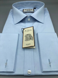 Thomas Pink, Pale Blue Shirt, UK:18.5 L , EU:47 L, RRP:£115!  BNWT, D/Cuff