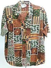 TEDDI Womens Size Medium Short Sleeve Shirt  Blouse Top Button Down