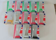 Official London 2012 olympic Games mcdonalds Coca COLA Glasses x 13  Wristbands