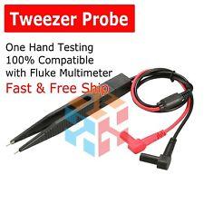 Tweezer Digital Multimeter Meter Universal Probe Wire Cable Test Leads