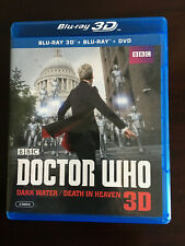 Doctor Who: Dark Water/Death in Heaven (Blu-ray 3D, Dvd, 2015, 2-Disc Set)